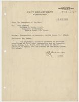 Designation as Commander, Battle Force, U.S. Fleet