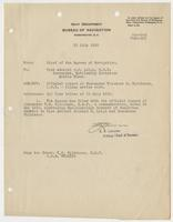 Official record of Commander Theodore S. Wilkinson, U.S.N.