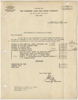 Letter to Richard & Minnie Leigh regarding their income tax