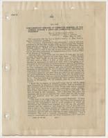 Complimentary remarks of Committee Members on Vice Admiral Richard H. Leigh and Commander Theodore S. Wilkinson