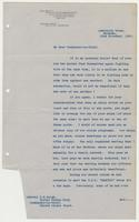Letter to R. H. Leigh from R. P. E. E. Drax