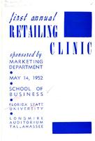 Program for 1st Annual Retailing Clinic