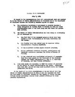 Notice of potential similarities between the Dept. of School Administration and the Dept. of Political Science