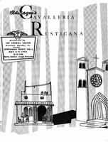 "Program for ""Cavalleria Rusticana"" (May 8-9, 1953)"