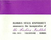 Information on The Fashion Institute (Fall 1953)