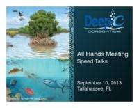 All Hands Meeting: Speed Talks