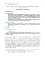 Activity Report Y3Q1