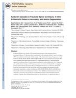 Kallikrein cascades in traumatic spinal cord injury