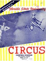 Florida State University Circus (May 3-5, 1956)