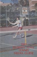 1981 Florida State Tennis Media Guide