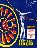 Flying High Circus program, 1953