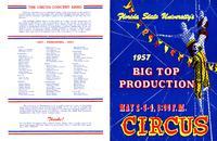 Big Top Production program, 1957