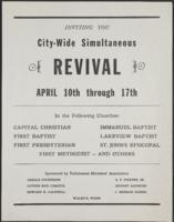 City-Wide Simultaneous Revival, April 10th through April 17th