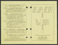 Each 1 Win 1 - Crawfordville Road Baptist Mission of First Baptist Church