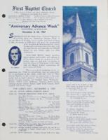 Anniversary Advance Week November 3-10