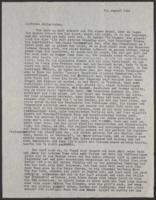 """Letter from Auguste """"Gusti"""" Hasterlik to Giulia Kortischoner, 1945-08-20"""