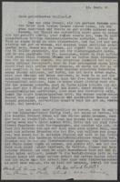 """Letter from Auguste """"Gusti"""" Hasterlik to Giulia Kortischoner, 1945-09-18"""