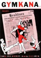 "Gymkana Presents ""Headlines"" (November 18-23, 1957)"
