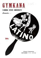 "Gymkana Presents: ""Latino"" (November 7-12, 1955)"