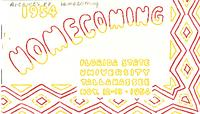 Homecoming program (November 12-13, 1954)