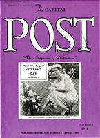November 1958 issue of The Capital Post (contains an article about FSU Homecoming)