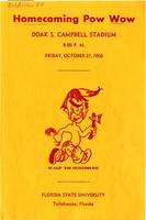 Homecoming Pow Wow program (October 27, 1950)