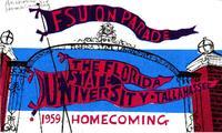 "1959 Homecoming Program: ""FSU On Parade"""