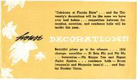1955 Homecoming program