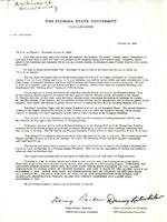 Letter from the Alumni Association regarding Homecoming, 1959