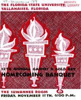 Program and menu for 1959 Garnet & Gold Key Banquet