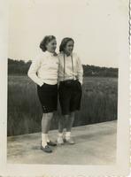 Betty Ann Theobold and Shirley Simpson