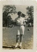 F Club Member Cappy Longstreth in a Park