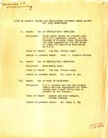 List of special awards for 1955 Homecoming