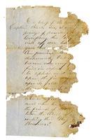 Letter regarding flag presentation to Hugh Black
