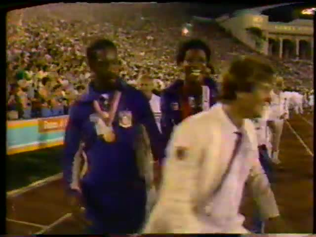 1984 Olympics Synchronized Swimming Coverage and Closing Ceremony