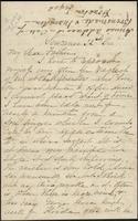 Letter from Susan Fairbanks to her father John Beard, Sewanee, 22nd Dec.