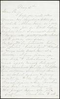 Letter from Susan Fairbanks to her father John Beard, May 12th