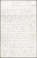 Letter from Susan Fairbanks to her father John Beard, New Years, 1876, page 1