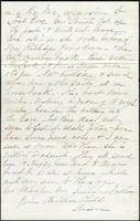Letter from Susan Fairbanks to her father John Beard, New Years, 1876, page 2