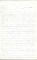 Letter from Susan Fairbanks to her father John Beard, April 18th