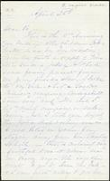 Letter from Susan Fairbanks to her father John Beard, April 25th