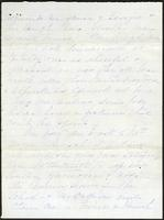Letter from Susan Fairbanks to her father John Beard, page 1
