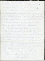 Letter from Susan Fairbanks to her father John Beard, page 2