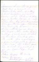 Letter from Susan Fairbanks to her father John Beard, February 28th, page 3