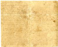 Letter from Hugh Black to Mary Black. August 17, 1864