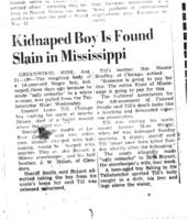 Kidnapped Boy Is Found Slain in Mississippi, Richmond Times-Dispatch