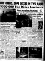 Crowd Hears Eye-Witness Miss. Accounts, Los Angeles Sentinel