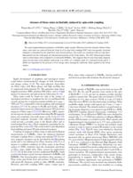 Absence Of Dirac States In Baznbi2 Induced By Spin-orbit Coupling