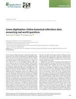 Green Digitization