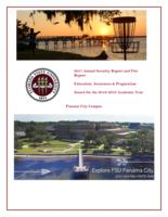 2017 Annual Security and Fire Safety Report Panama City Campus